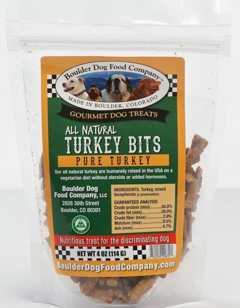 Boulder Dog Food Company Turkey Bits - 4oz