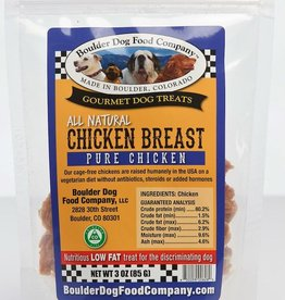 Boulder Dog Food Company Chicken Breast Strips - 3oz