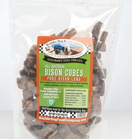 Boulder Dog Food Company Bison Cubes - 5oz