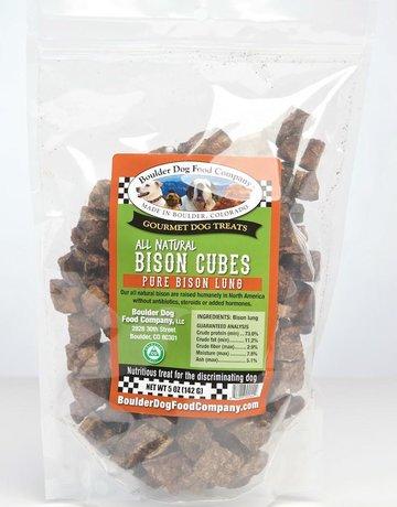 Boulder Dog Food Company Bison Cubes - 5oz