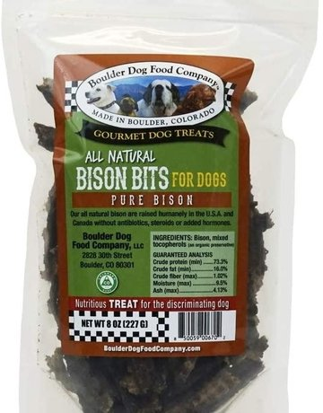 Boulder Dog Food Company Bison Bits - 8oz