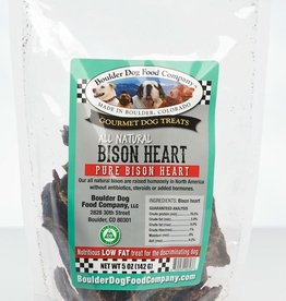 Boulder Dog Food Company Bison Heart - 5oz