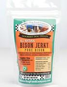 Boulder Dog Food Company Canine Bison Jerky