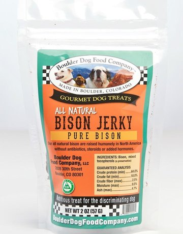 Boulder Dog Food Company Bison Jerky - 2oz