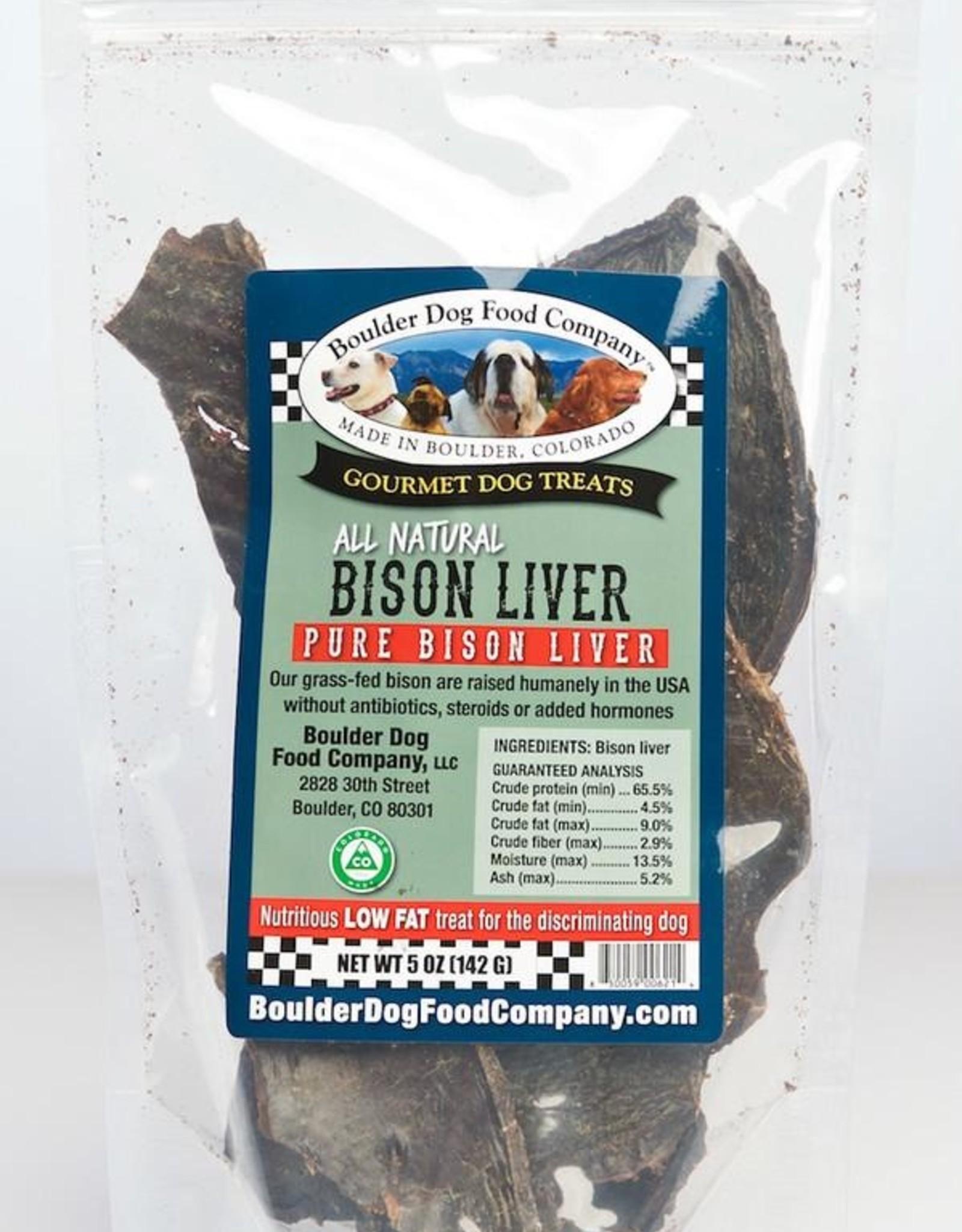 Boulder Dog Food Company Bison Liver - 5oz