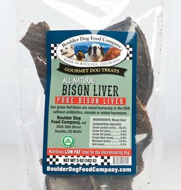 Boulder Dog Food Company Bison Liver - 5oz