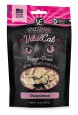 Vital Essentials Cat Chicken Breast Freeze-Dried Treats - 1oz