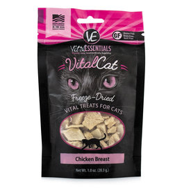 Vital Essentials Cat Chicken Breast Freeze-Dried Treats - 1oz
