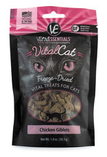 Vital Essentials Cat Chicken Giblets Freeze-Dried Treats - 1oz