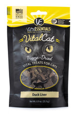 Vital Essentials Cat Duck Liver Freeze-Dried Treats - 0.9oz