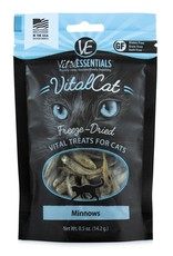 Vital Essentials Cat Minnows Freeze-Dried Treats - 0.5oz