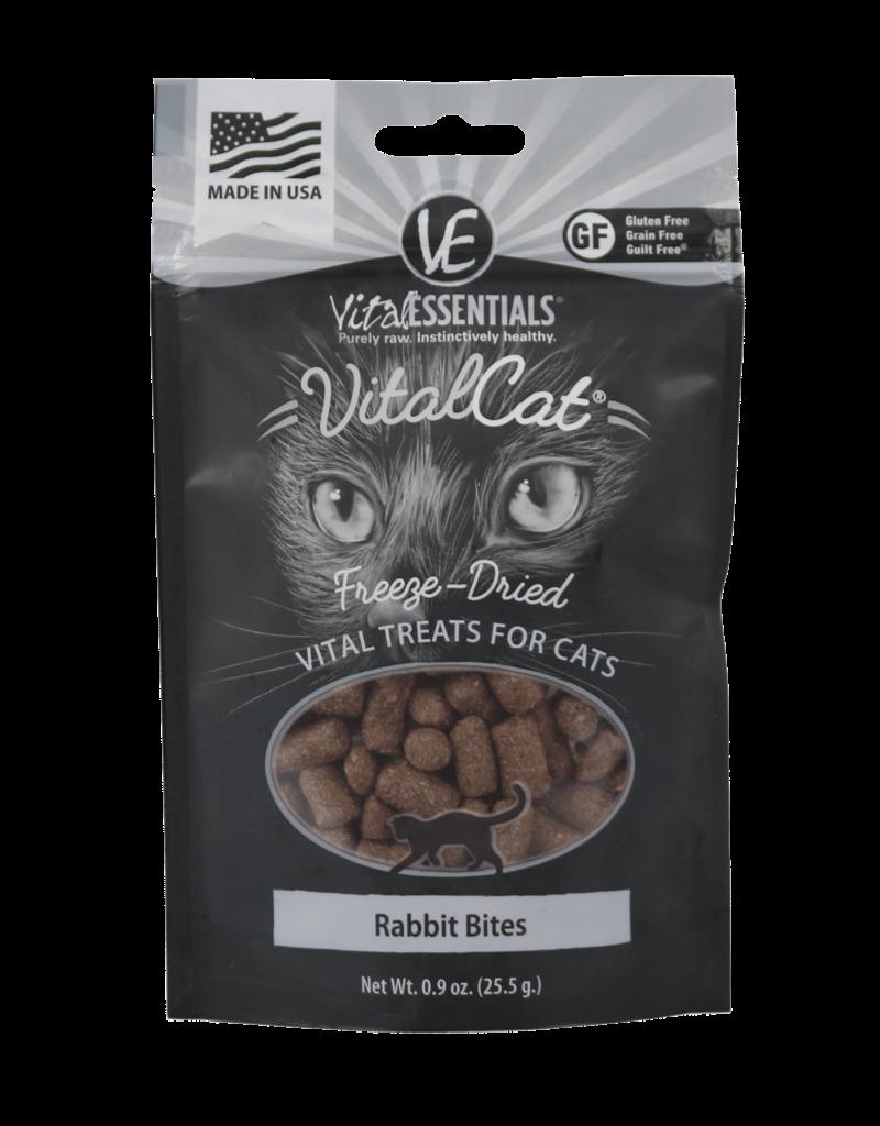 Vital Essentials Feline Freeze-Dried Rabbit Bites Treats