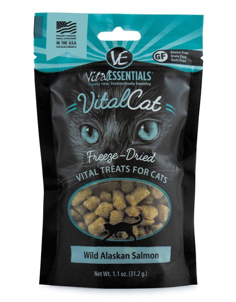 Vital Essentials Feline Freeze-Dried Wild Alaskan Salmon Treats