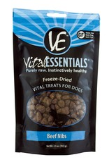 Vital Essentials Dog Beef Nibs Freeze-Dried Treats - 2.5oz