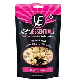 Vital Essentials Dog Chicken Breast Freeze-Dried Treats - 2.1oz