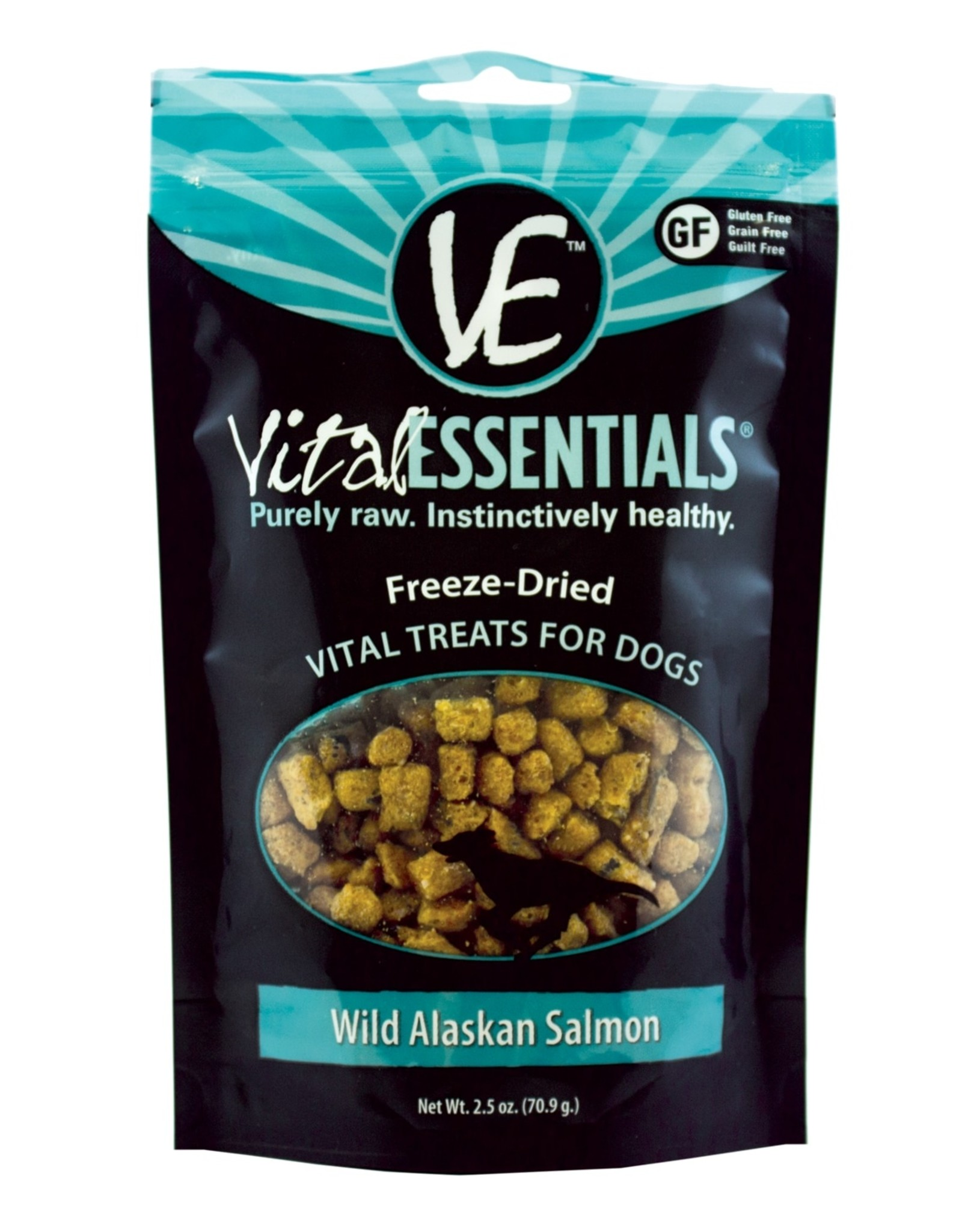 Vital Essentials Dog Wild Alaskan Salmon Freeze-Dried Treats - 2.5oz