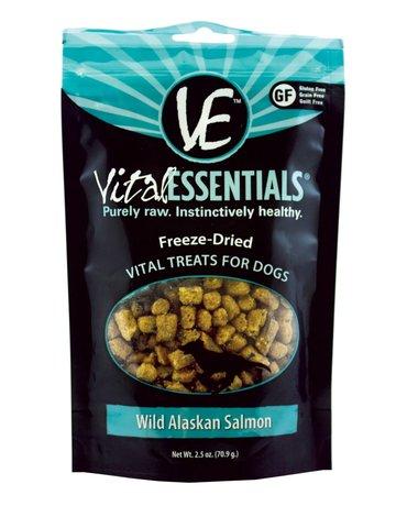 Vital Essentials Canine Freeze-Dried Wild Alaskan Salmon Treats