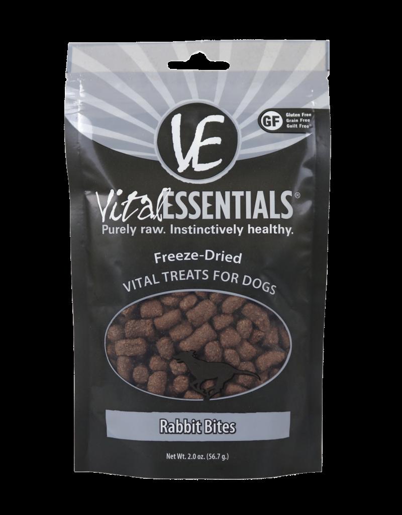 Vital Essentials Canine Freeze-Dried Rabbit BitsTreats