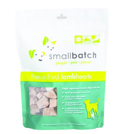 SmallBatch Pets Freeze-Dried Lamb Hearts - 3.5oz