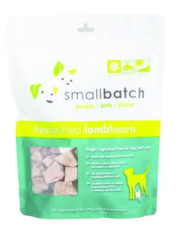 SmallBatch Pets Canine Freeze-Dried Lamb Hearts