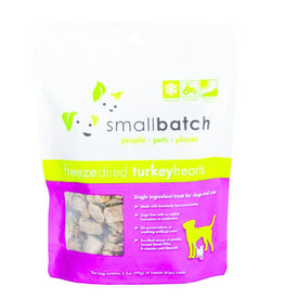 SmallBatch Pets Freeze-Dried Turkey Hearts - 3.5oz