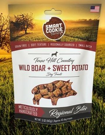 Smart Cookie Treats Dog Wild Boar & Sweet Potato Treats - 5oz