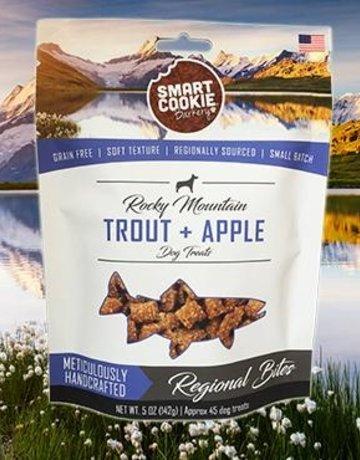 Smart Cookie Treats Canine Trout & Apple Treats