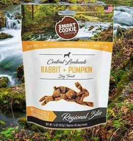 Smart Cookie Treats Dog Rabbit & Pumpkin Treats - 5oz