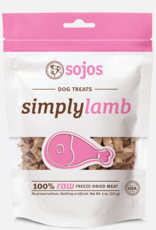 Sojos Pet Food Dog Simply Lamb Treats - 4oz