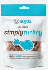 Sojos Pet Food Dog Simply Turkey Treats - 4oz