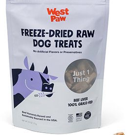 West Paw Dog Freeze-Dried Beef Liver Treats - 2.5oz