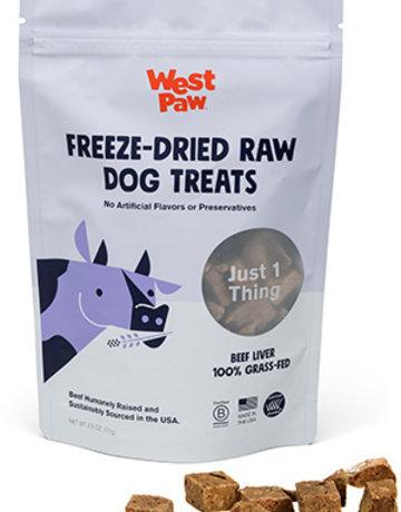 West Paw Dog Freeze-Dried Beef Liver Treats - 2.5oz