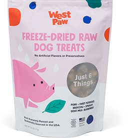 West Paw Dog Freeze-Dried Pork with Superfood Treats - 2.5oz