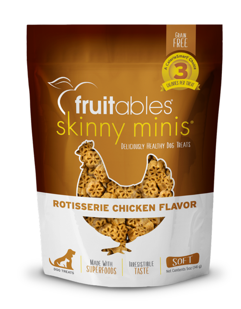 Fruitables Canine Skinny Minis Rotisserie Chicken