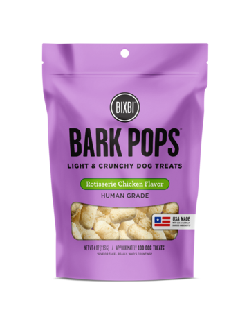 Bixbi Pet Canine Bark Pops Cheddar