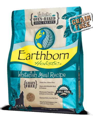 Earthborn Holistic Biscuit Whitefish Meal - 2lb