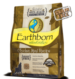 Earthborn Holistic Biscuit Chicken Meal - 2lb