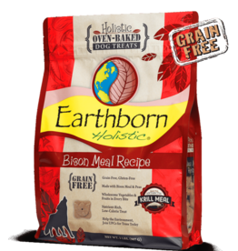Earthborn Holistic Biscuit Bison Meal - 2lb