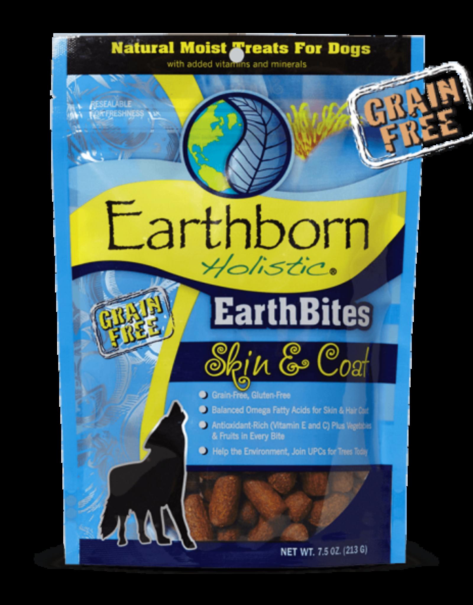 Earthborn Holistic Earthbites Skin & Coat - 7.5oz