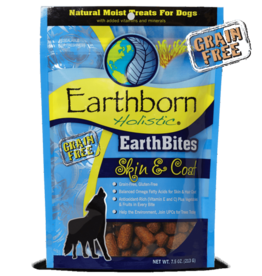 Earthborn Holistic Earthbites Skin & Coat - 7.5oz