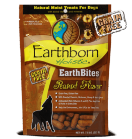 Earthborn Holistic Earthbites Peanut Butter Flavor - 7.5oz