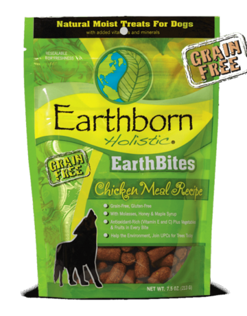 Earthborn Holistic Earthbites Chicken Flavor - 7.5oz