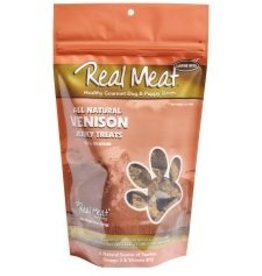 Real Meat Dog Venison Treats - 12oz