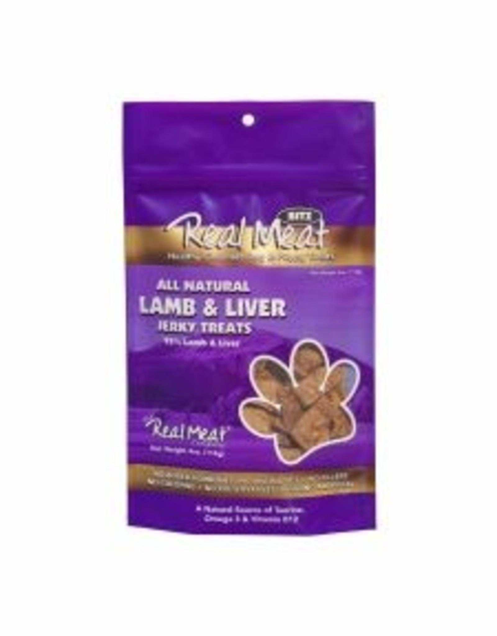 Real Meat Dog Lamb Treats - 4oz