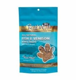 Real Meat Dog Fish & Venison Treats - 4oz