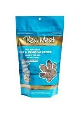 Real Meat Dog Fish & Venison Treats - 12oz