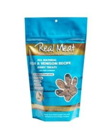 Real Meat Dog Fish & Venison Treats - 12oz
