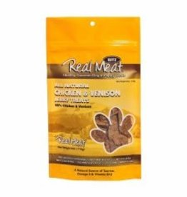 Real Meat Dog Chicken & Venison Treats - 4oz