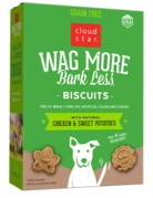 Cloud Star Wag More Grain-Free Chicken Biscuit - 16oz
