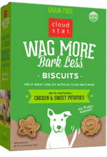 Cloud Star Wag More Grain-Free Chicken Biscuit - 16oz